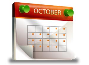 Kalender oktober 2012 oktober